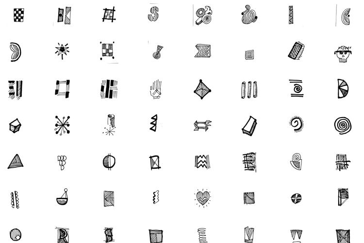 Notebook Doodles Font