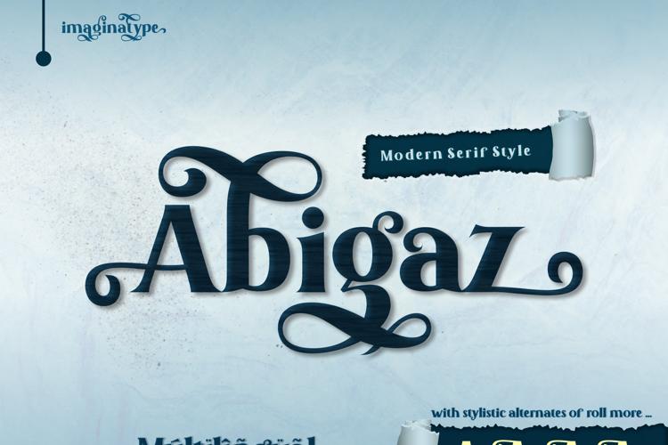 Abigaz Font
