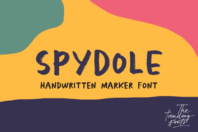 Spydole Font