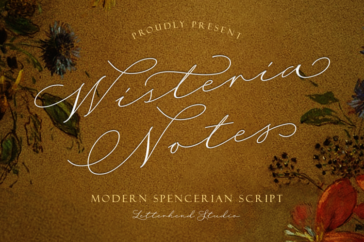 Wisteria Notes Font