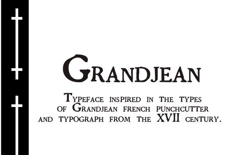 GrandjeanPW Font