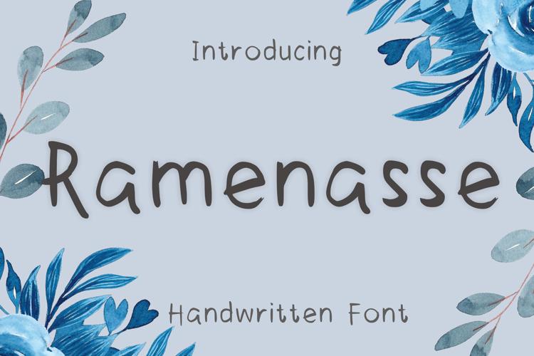 Ramenasse Font