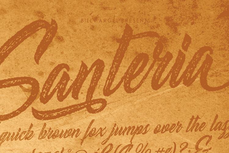 Santeria Font