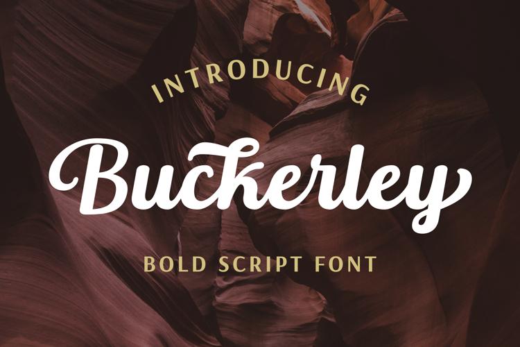 Buckerley Font