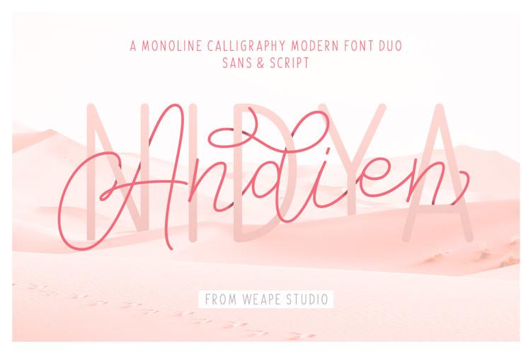 Andien Nidya Font
