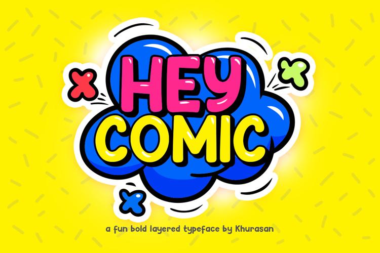 Hey Comic Font