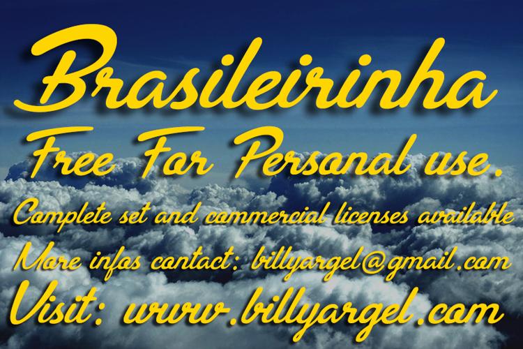 Brasileirinha Font