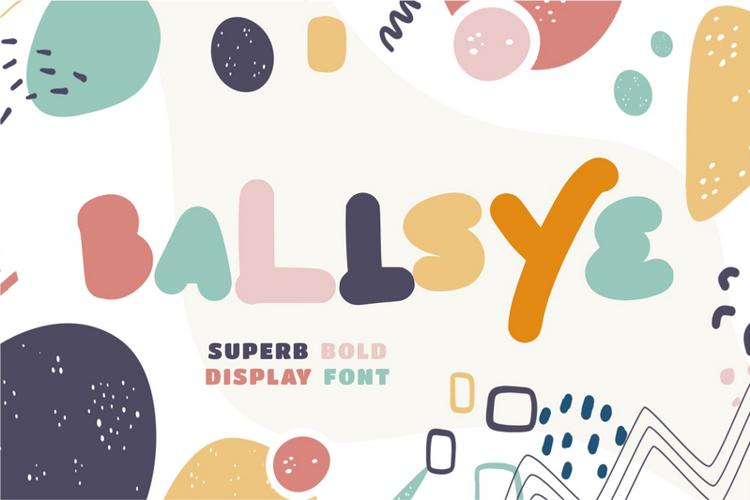Ballsye Font