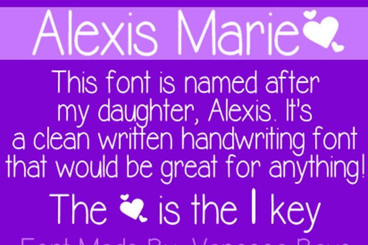 Alexis Marie Font