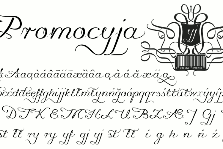 Promocyja Font