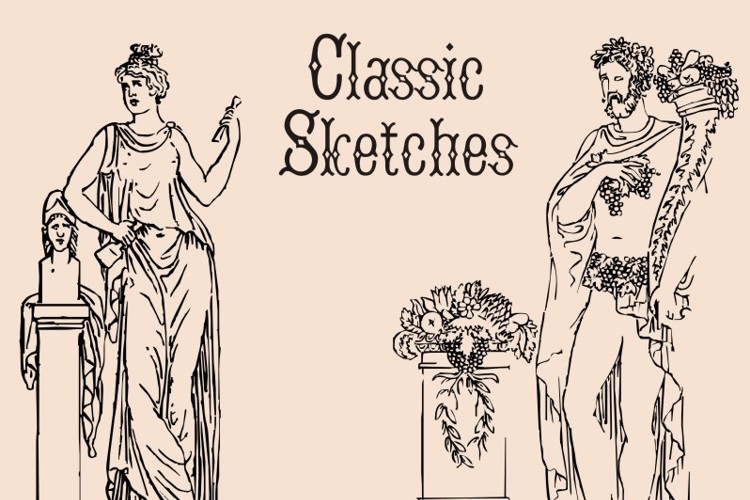 ClassicSketches Font