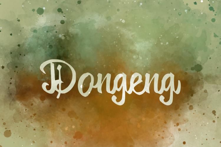 d Dongeng Font