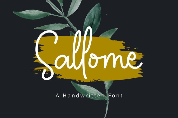 Sallome Font