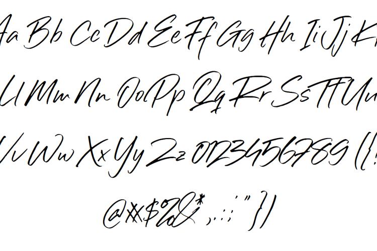 Sillii Willinn Font