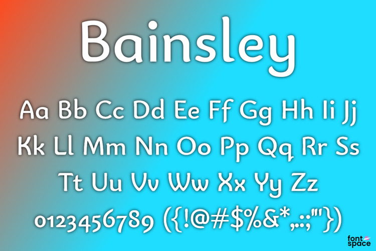 Bainsley Font