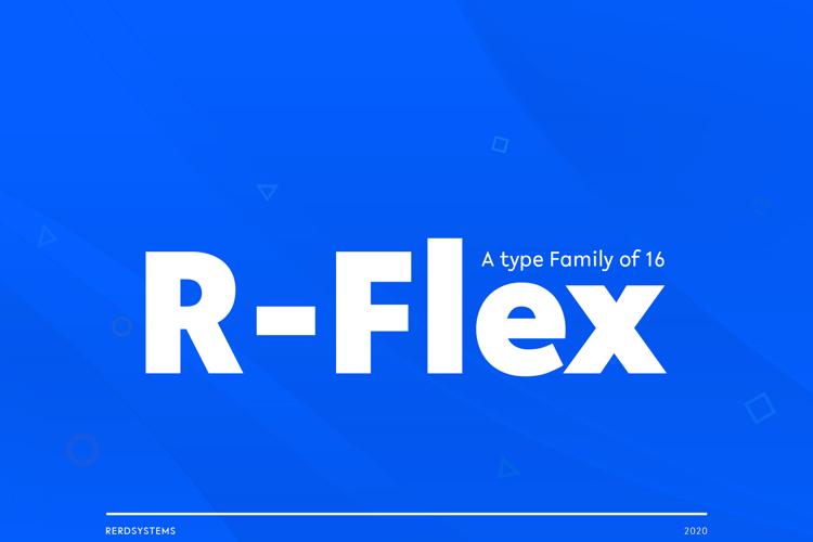 R-Flex Font