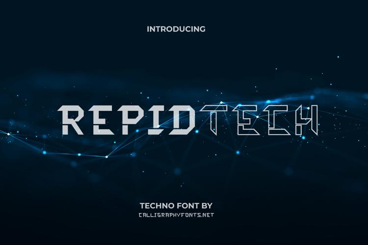 Rapidtech Font