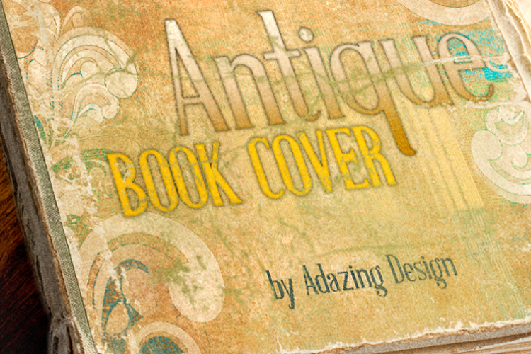Antique Book Cover Regular Font