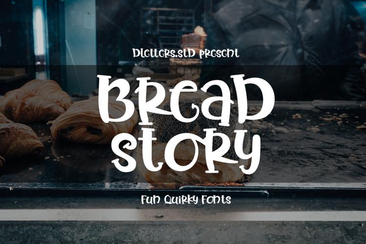 Bread Story Font