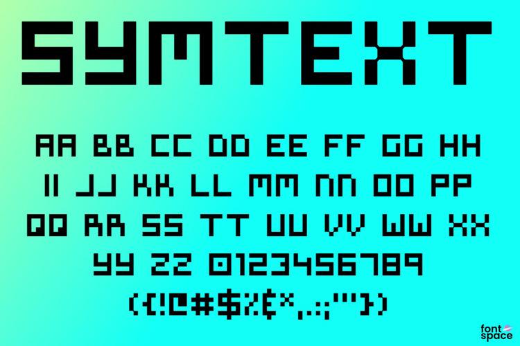 Symtext Font