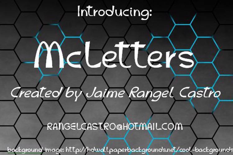 McLetters Font
