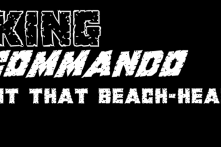 King Commando Font