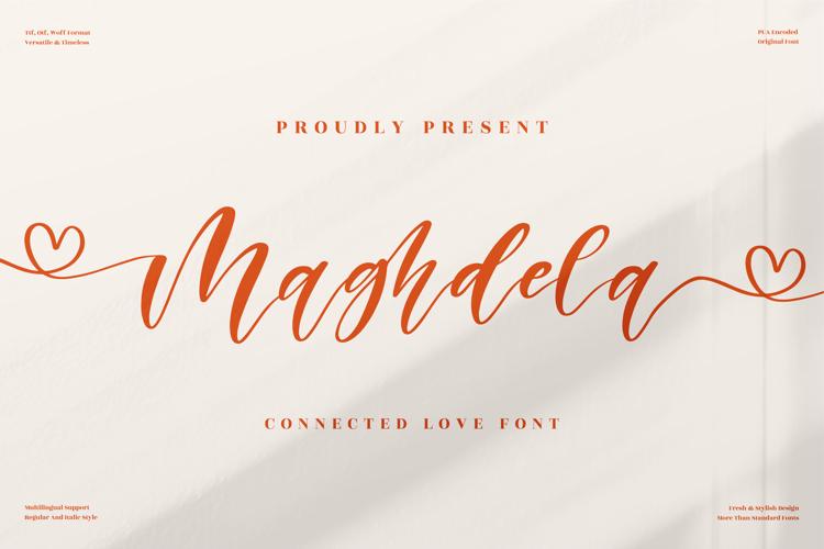 Maghdela Font