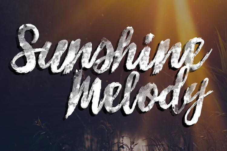 Sunshine_Melody Font
