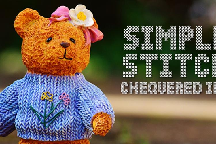Simple Stitch Font