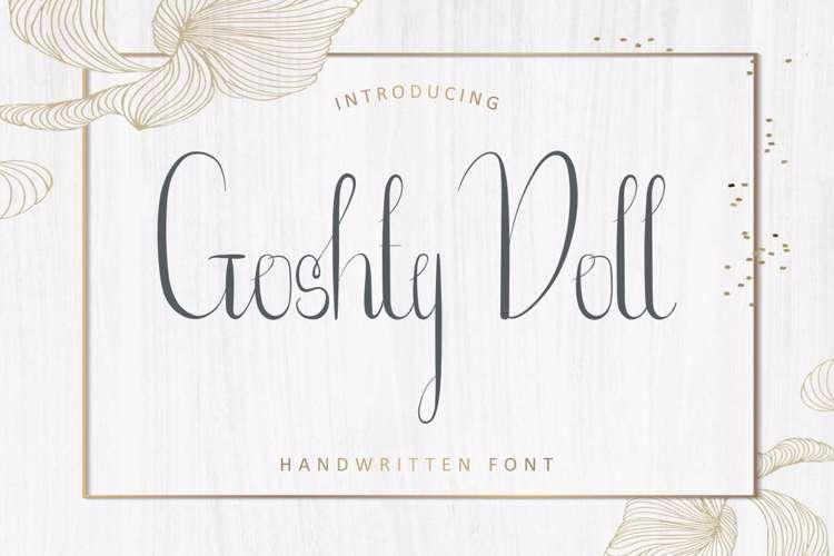 Goshty Doll Font