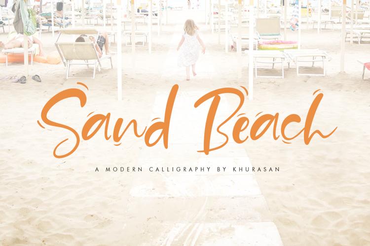 Sand Beach Font