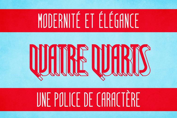 Quatre Quarts Font