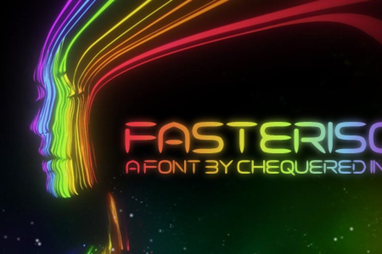 Fasterisq Font
