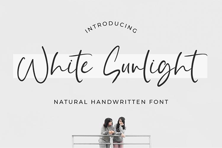 White Sunlight Font
