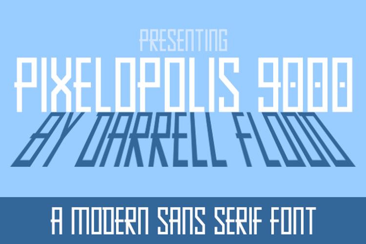Pixelopolis 9000 Font