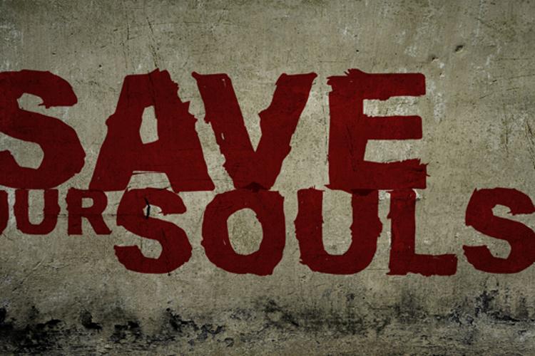 SAVE OUR SOULS saji Font