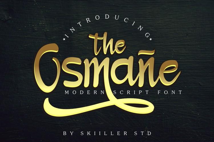 Osmane Font