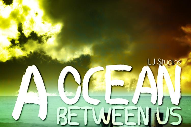 A ocean between US Font