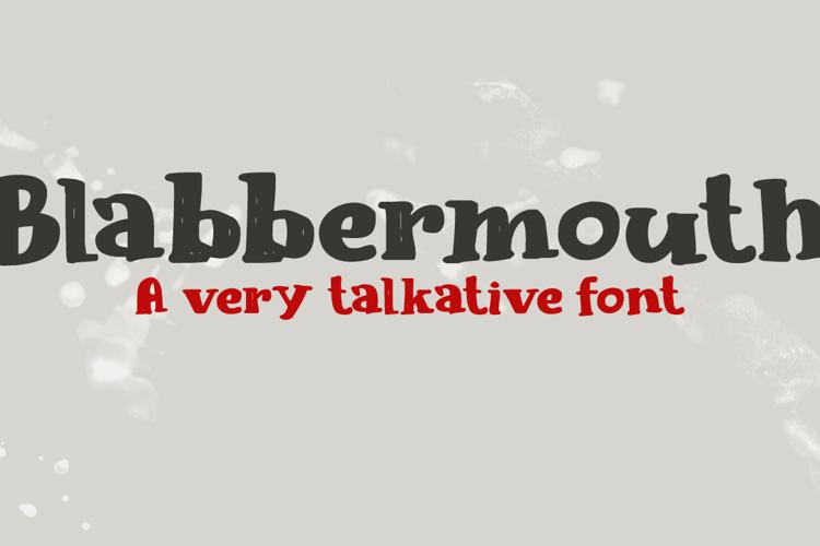 Blabbermouth DEMO Font