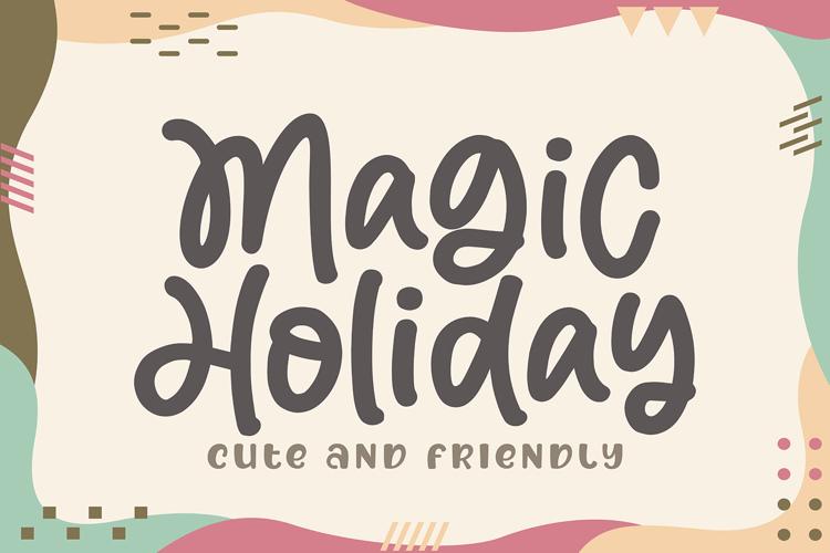 Magic Holiday Font