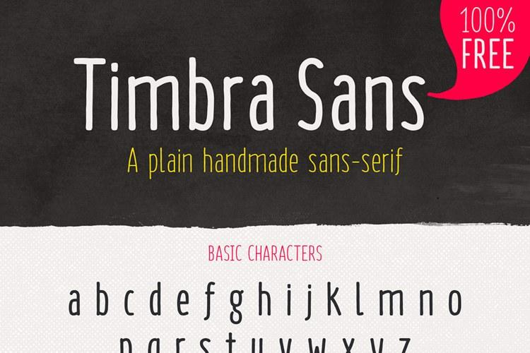 Timbra Sans Font