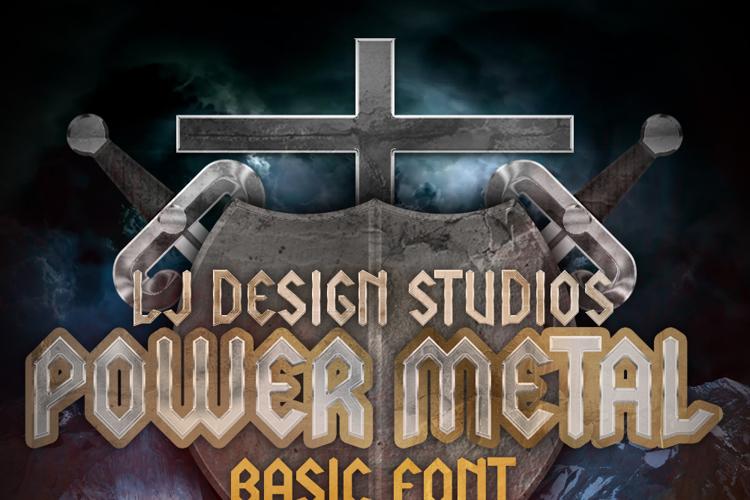 LJ Power Metal Font