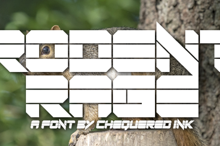 Rodent Rage Font
