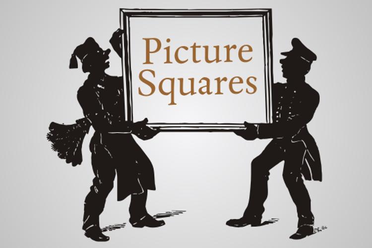 Picture Squares Font