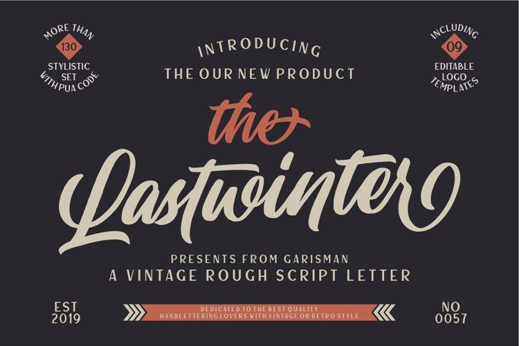 Lastwinter Font