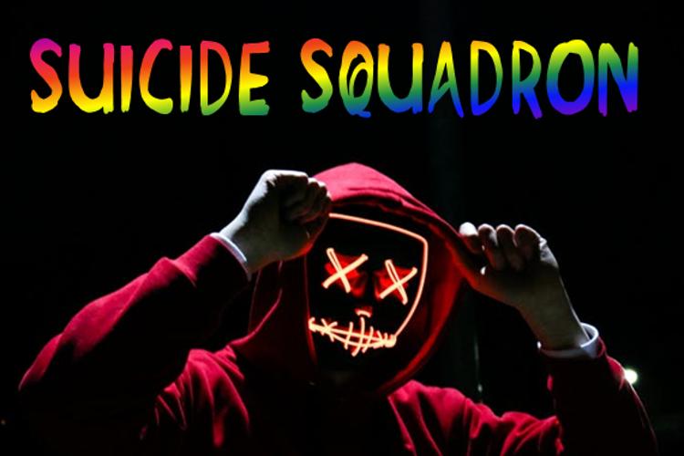 Suicide Squadron Font