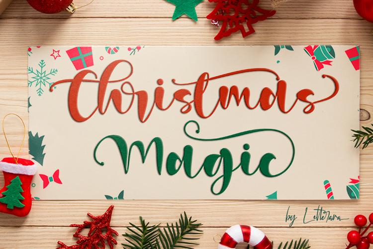 Christmas Magic Font