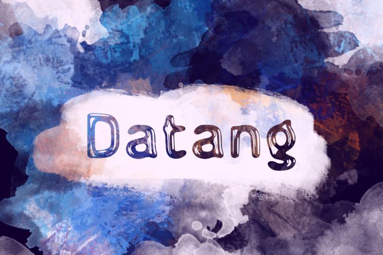 d Datang Font