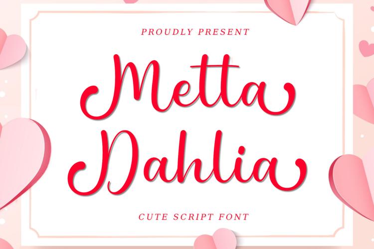 Metta Dahlia Font