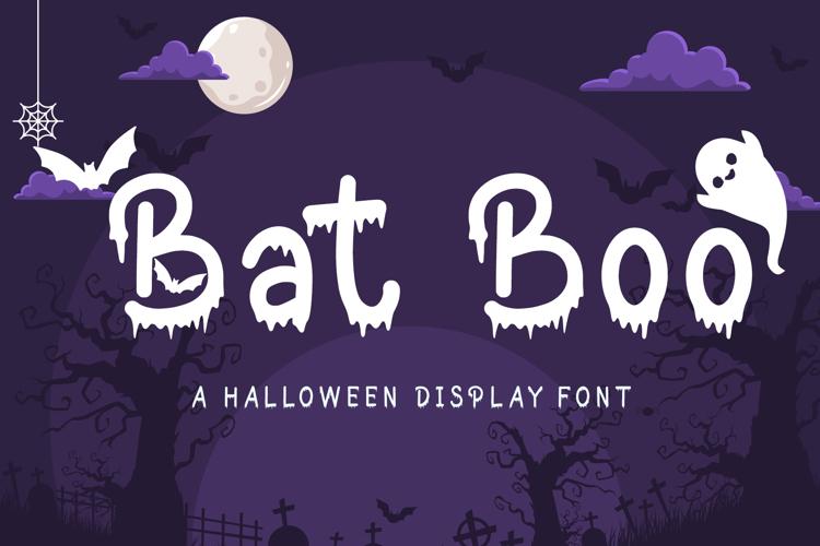 Bat Boo Font